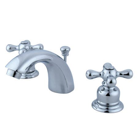Kingston Brass KB941AX Victorian Mini-Widespread Bathroom Faucet, Polished Chrome