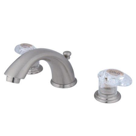 Kingston Brass KS2981KX GOVERNOR WIDESPREAD bathroom Faucet with Brass POP
