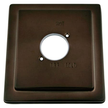 Kingston Brass KBE8655 Escutcheon (Plate) For KB8655, Oil Rubbed Bronze