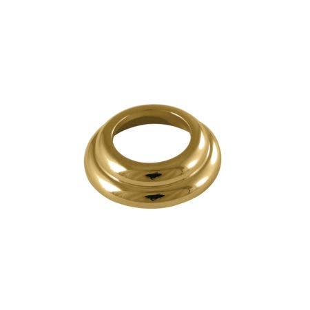 Kingston Brass KBSF1972 Spout Flange With O-Ring For KB1972 Series, Polished Brass