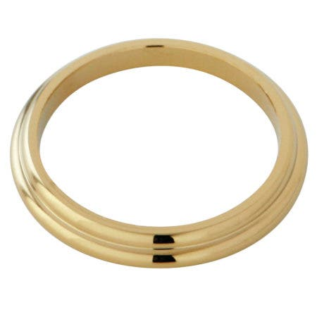 Kingston Brass KBSF962 Spout Flange For KB962 964, Polished Brass