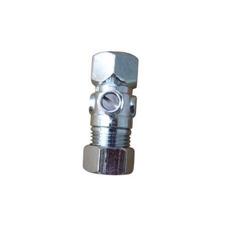 "1/2"" FIP x 1/2"" O.D. Comp Straight Shut Off Valve"