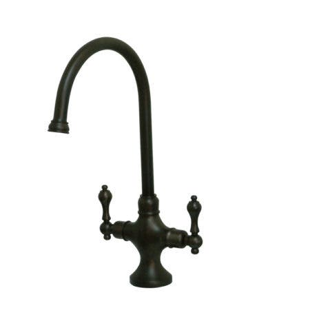 Kingston Brass KS1765ALLS Vintage Classic Kitchen Faucet Without Sprayer, Oil Rubbed Bronze
