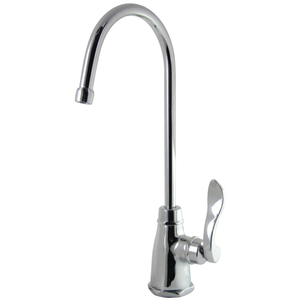 Kingston Brass KS2191NFL NuWave French Cold Water Filtration Faucet, Polished Chrome