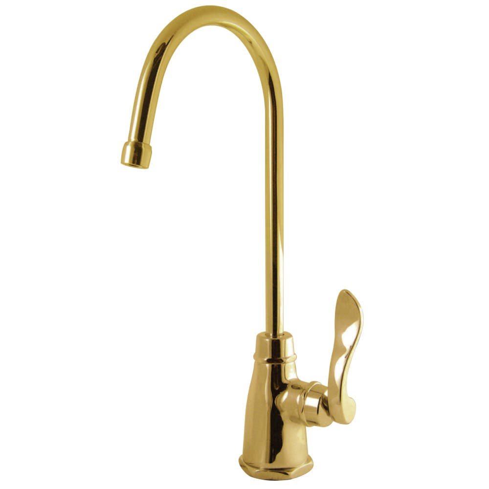 Kingston Brass KS2192NFL NuWave French Cold Water Filtration Faucet, Polished Brass