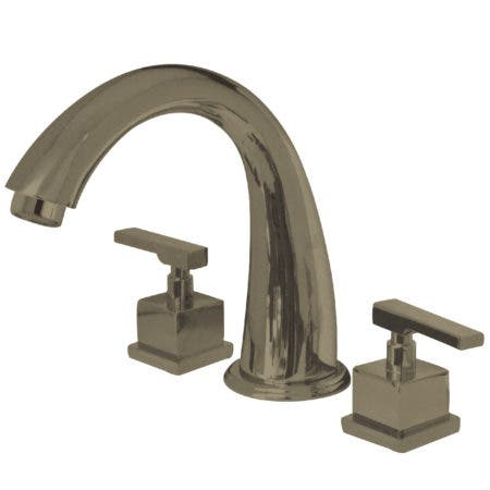 Kingston Brass KS2368QLL Roman Tub Filler, Brushed Nickel