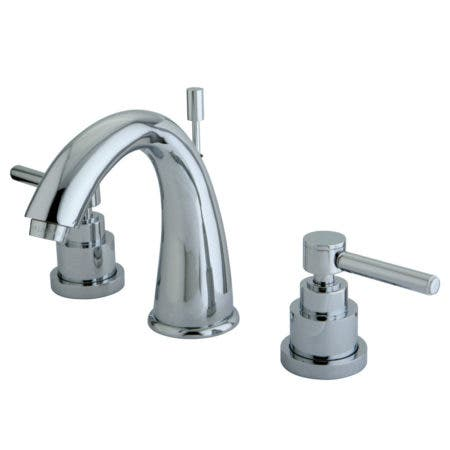 Kingston Brass KS2961EL 8 in. Widespread Bathroom Faucet, Polished Chrome