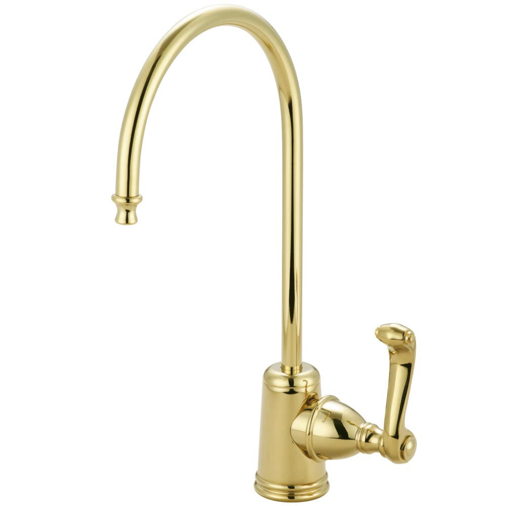 Kingston Brass KS7192FL Royale Single Handle Water Filtration Faucet, Polished Brass