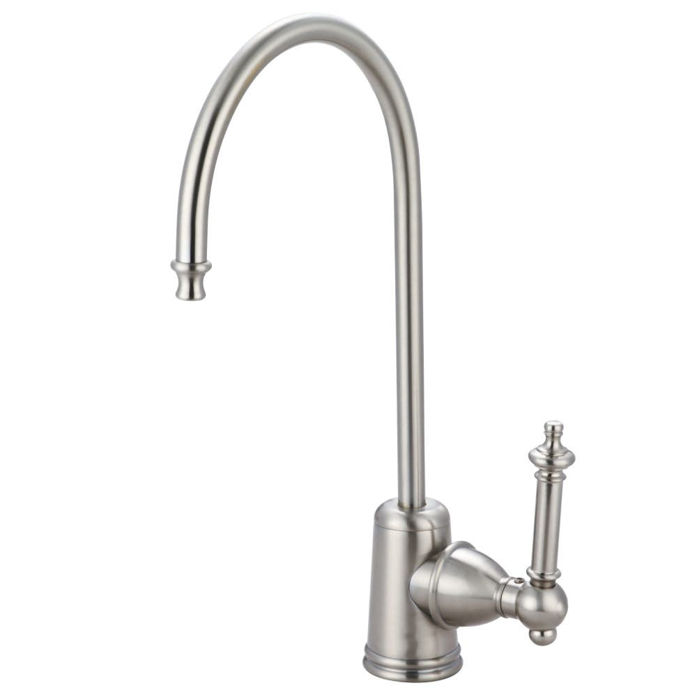Kingston Brass KS7198TL Templeton Single Handle Water Filtration Faucet, Brushed Nickel