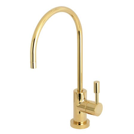 Kingston Brass KS8192DL Concord Single Handle Water Filtration Faucet, Polished Brass