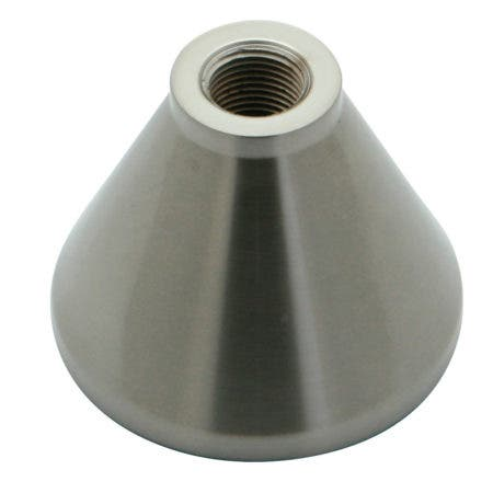 Kingston Brass KSHB2368NL Handle Base for KS2368 & KS23685AL AX PLPX, Brushed Nickel