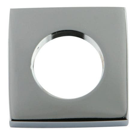 Kingston Brass KSHF2361QLL Executive Square Flange, Polished Chrome