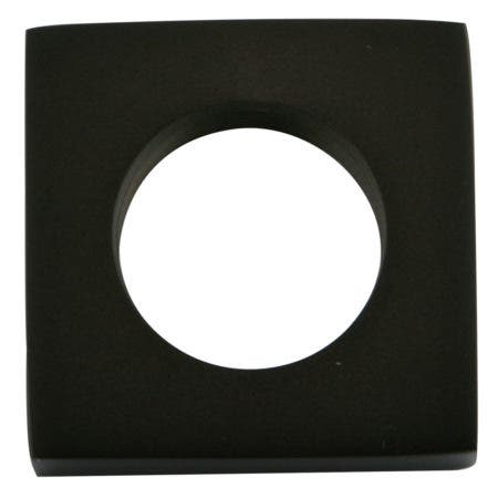 Kingston Brass KSHF2365QLL Executive Square Flange, Oil Rubbed Bronze