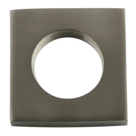 Kingston Brass KSHF2368QLL Executive Square Flange, Brushed Nickel