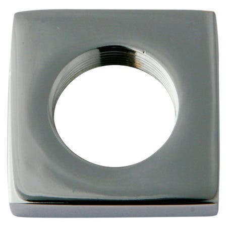 Kingston Brass KSHF2951QLL Executive Square Flange, Polished Chrome