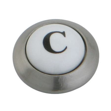 Kingston Brass KSHI3608AXC Cold Button for KS3608AX, Brushed Nickel