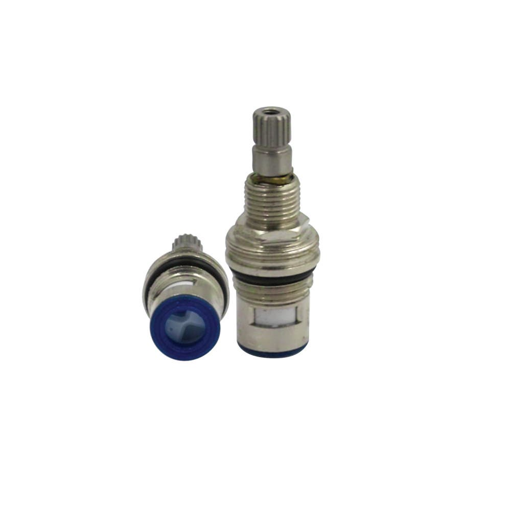 Kingston Brass KSRPL3008CC Cartridge For Wide & Mini Spread Faucet (KS3968...) Cold (1 Piece), Brushed Nickel