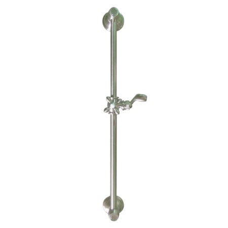 Kingston Brass KSX3528SG Made To Match 24-Inch Shower Slide Bar, Brushed Nickel