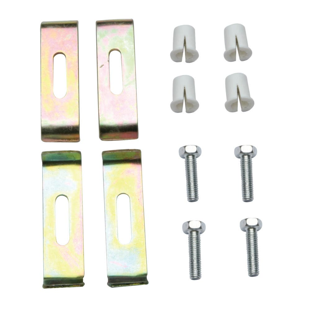 Kingston Brass KUHDWR4 4-Pieces Undermount Clip for Stainless Steel Sink