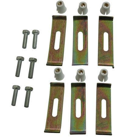 Kingston Brass KUHDWR6 Undermount Clip 6 Clips Pack