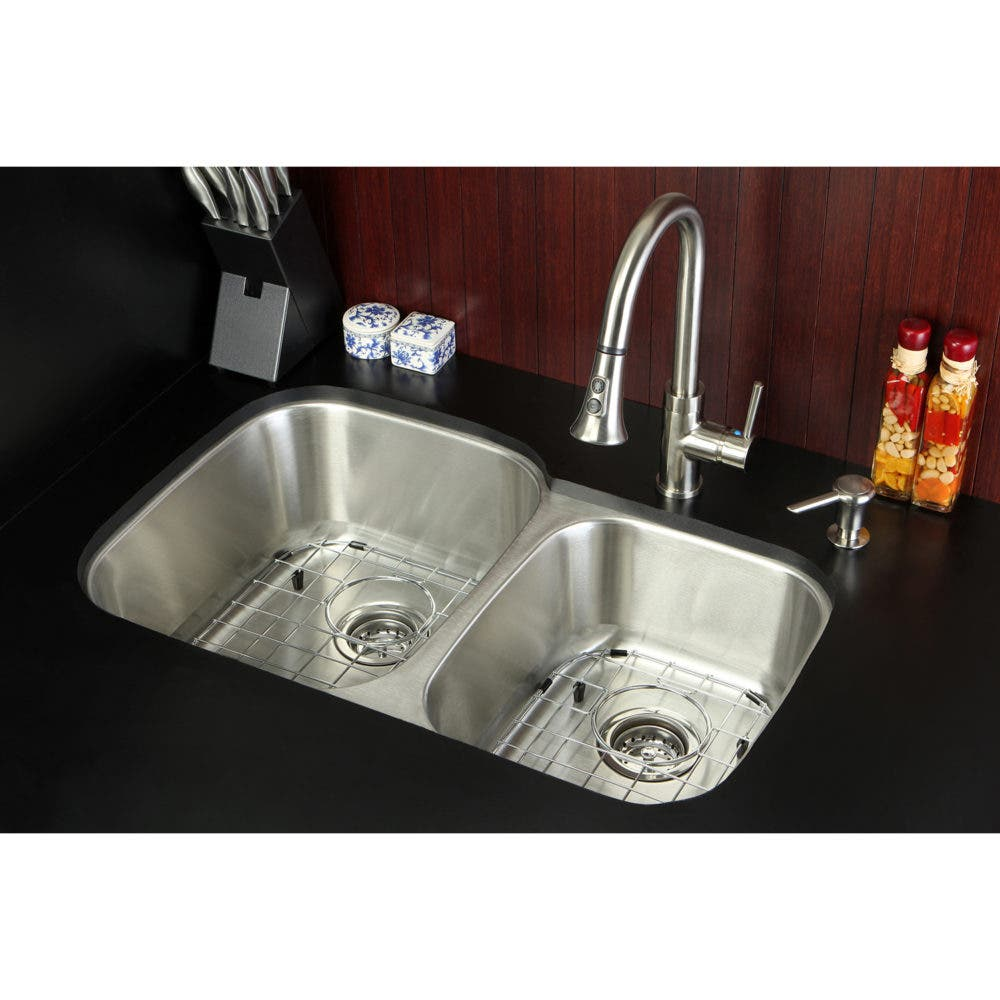 Make Dish-Washing Easy with the Stainless Steel Double-Bowl Kitchen ...
