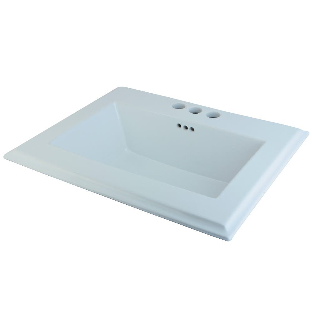 Fauceture LBT23196W34 Concord Surface Mount Basin, White | Kingston ...