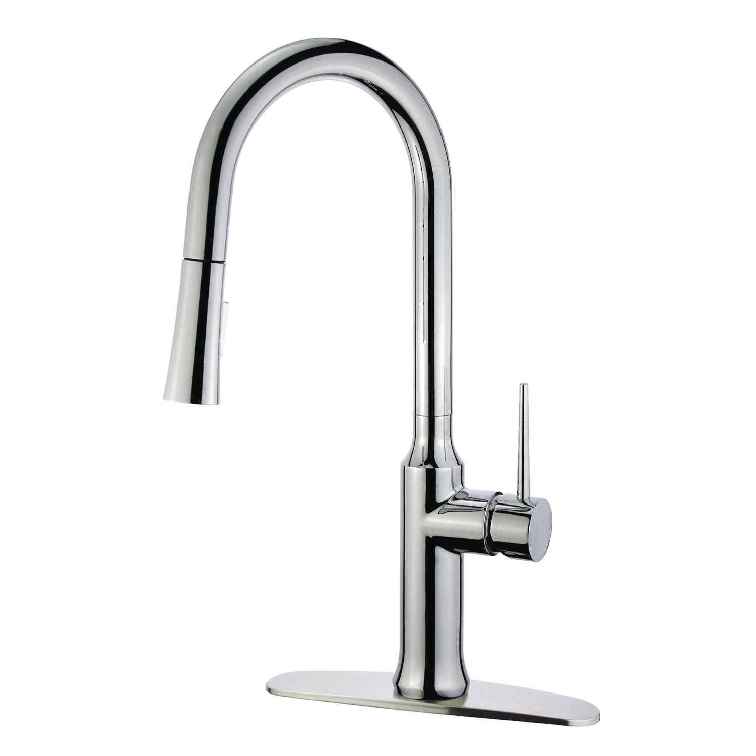 Gourmetier Ls2721nyl Single Handle Pull Down Kitchen Faucet