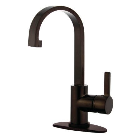 Fauceture LS8215CTL Continental Single-Handle Bathroom Faucet, Oil Rubbed Bronze