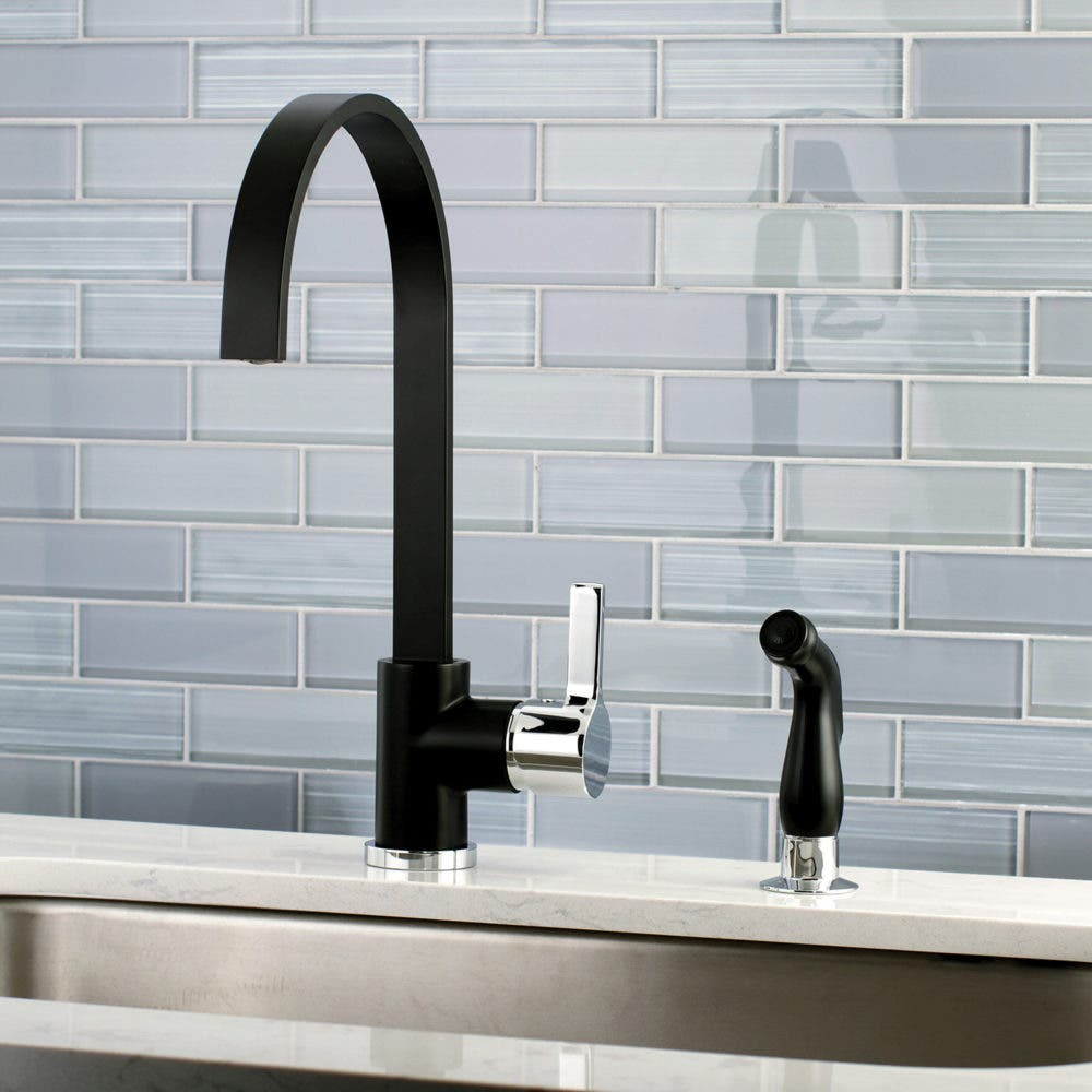 FAUCET FEATURE 4: Profile of the LS8717DLSP Faucetaire Single Handle ...