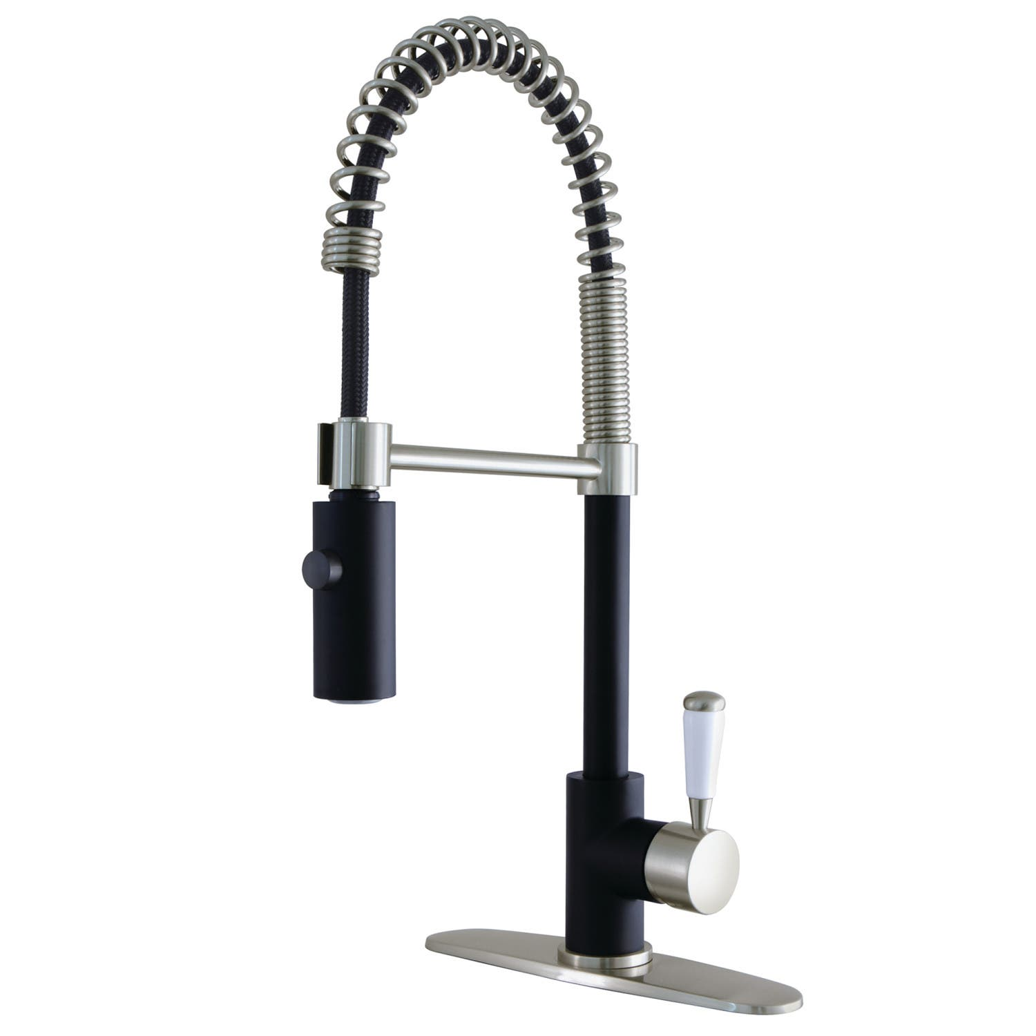 Gourmetier Ls8779dpl Paris Single Handle Pull Down Kitchen Faucet