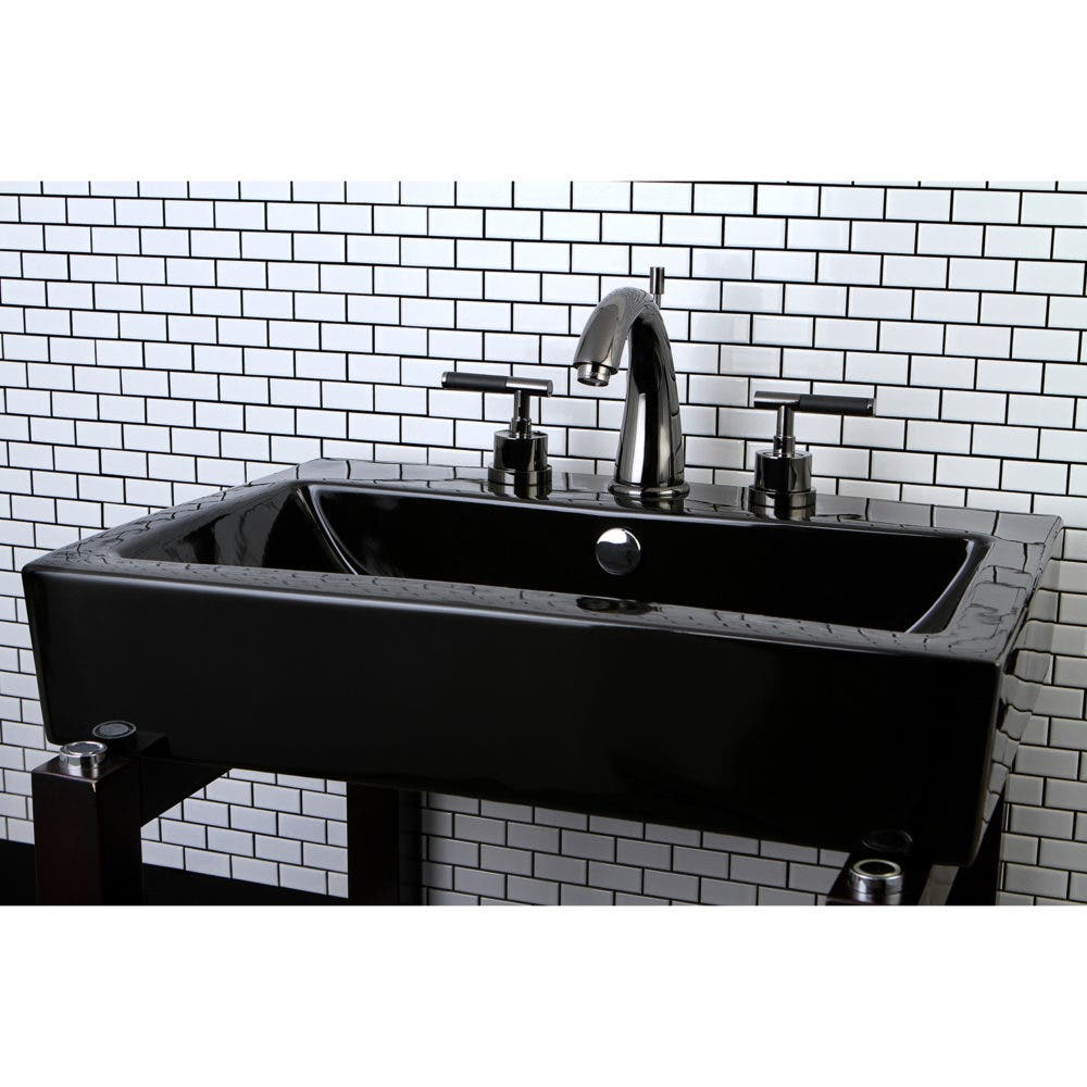 Go Dark and Daring with the Kaiser Black Stainless Steel Faucet ...