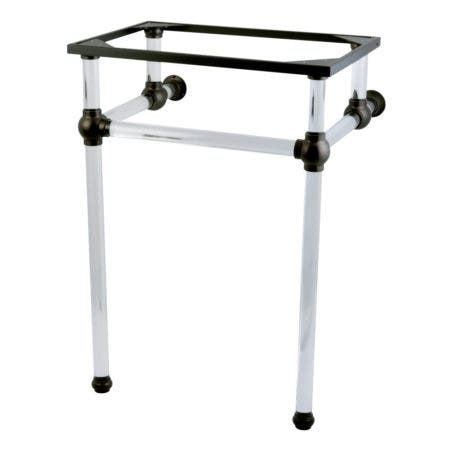 Kingston Brass VAH282033ORB Templeton 24-Inch x 20-3/8-Inch x 33-1/4-Inch Acrylic Console Sink Legs, Oil Rubbed Bronze