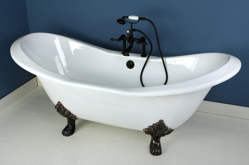 Tame Your Inner Lion In The Aqua Eden Cast Iron Bath Tubs ...