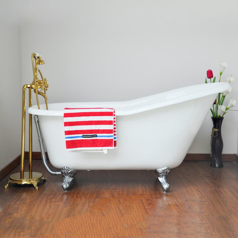 BATHTUB FEATURE 2: Profile of the VCTND6030NT1 Cast Iron Clawfoot ...