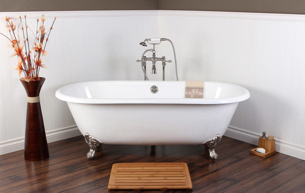 Increase your Home\'s Value with a Clawfoot Tub | Kingston Brass
