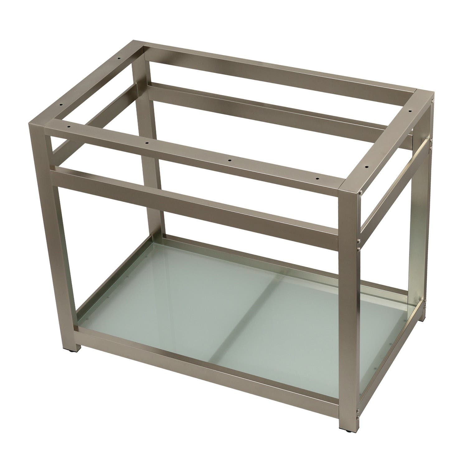 Fauceture VSP3722B8 37-Inch x 22-Inch Console Sink Base with Glass ...