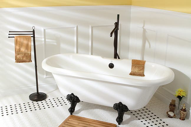 Spruce up your bathroom for less.
