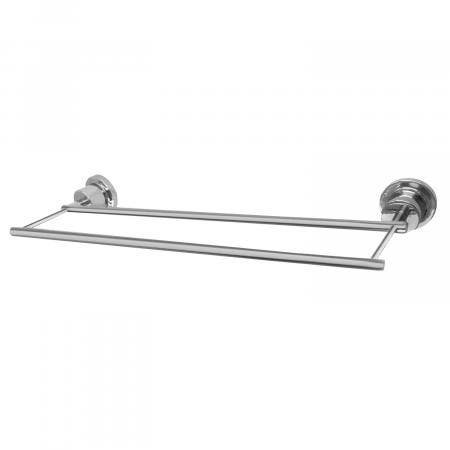 Kingston Brass BAH821318C Concord 18-Inch Double Towel Bar, Polished Chrome