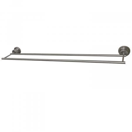 Kingston Brass BAH821330SN Concord 30-Inch Double Towel Bar, Brushed Nickel