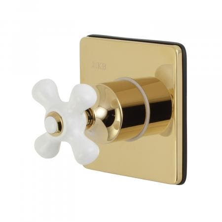 Kingston Brass KS3042PX Tub and Shower Faucets, Polished Brass