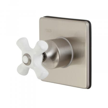 Kingston Brass KS3048PX Tub and Shower Faucets, Brushed Nickel