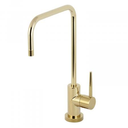 Kingston Brass KS6192NYL New York Single-Handle Cold Water Filtration Faucet, Polished Brass