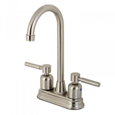 Kingston Brass KB8498DL Concord Bar Faucet, Brushed Nickel