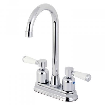 Kingston Brass KB8491DPL Paris Bar Faucet, Polished Chrome