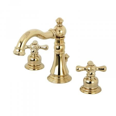 Fauceture FSC1972AX American Classic 8 in. Widespread Bathroom Faucet, Polished Brass