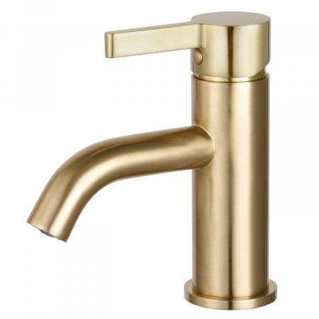 Fauceture LS8223CTL Continental Single-Handle Bathroom Faucet, Brushed Brass