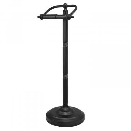 Kingston Brass CC2100 Georgian Pedestal Toilet Paper Holder, Matte Black