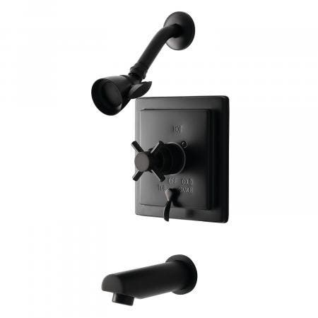 Kingston Brass KB86550DX Tub and Shower Faucet, Oil Rubbed Bronze