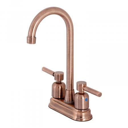 Kingston Brass KB849DLAC Concord Bar Faucet, Antique Copper