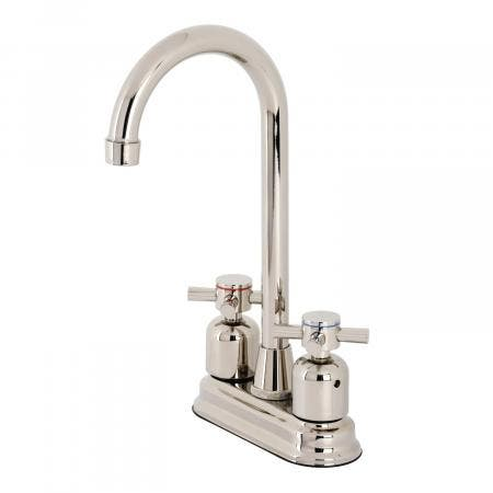 Kingston Brass KB8496DX Concord Bar Faucet, Polished Nickel
